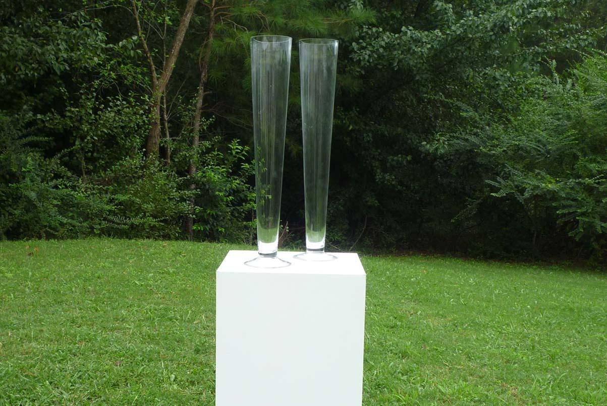trumpet vases