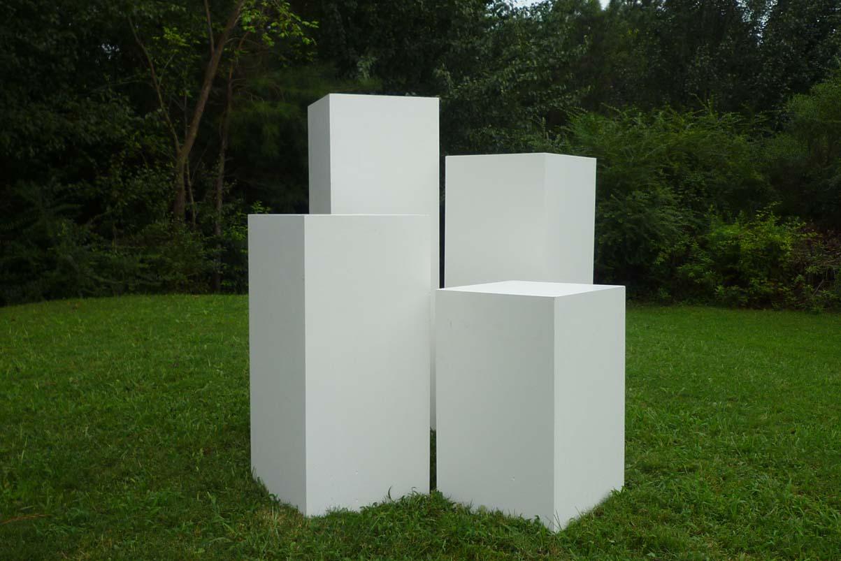 tiered-pedestals