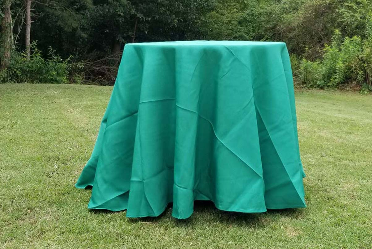 lowboy with green cloth